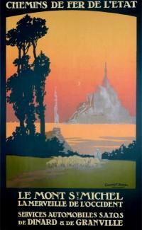 """""""Le Mont Saint-Michel"""" – 1925"""