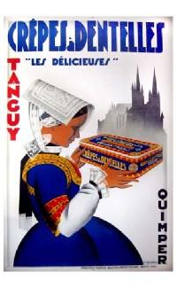 Crêpes à Dentelles, Quimper – 1930