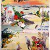 «Excursions en Normandie & Bretagne, Mont St Michel», 1900
