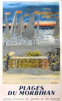 Plages du Morbihan – 1950