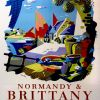 """Brittany & Normandy"" – 1955"