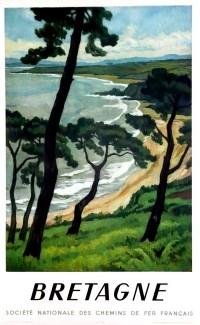 """""""Bretagne"""" by André Strauss – 1950"""