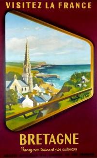 """Bretagne, SNCF"" – 1953"