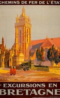 """""""Excursions en Bretagne, St Thegonnec"""" – 1923"""