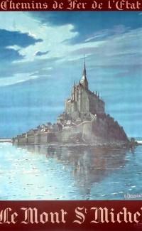 Le Mont St. Michel – 1930