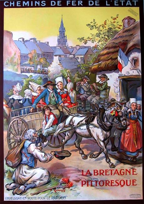 """""""La Bretagne Pittoresque, Huelgoat"""" – 1925"""
