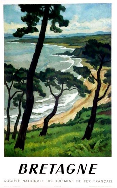 """Bretagne"" par André Strauss – 1950"