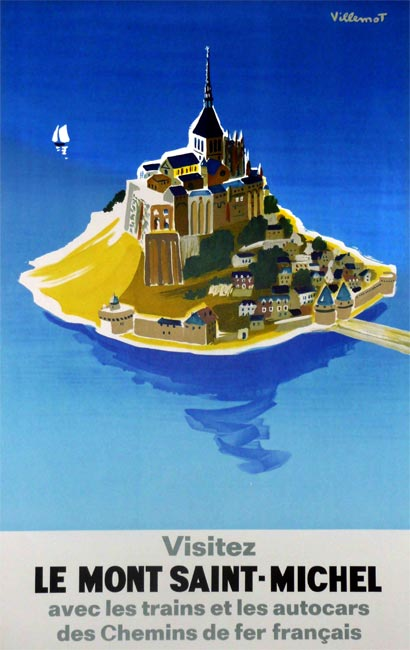 Le Mont Saint-Michel – 1968