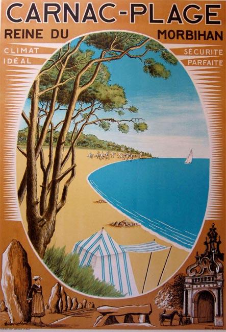 """Carnac-Plage"" – 1930"