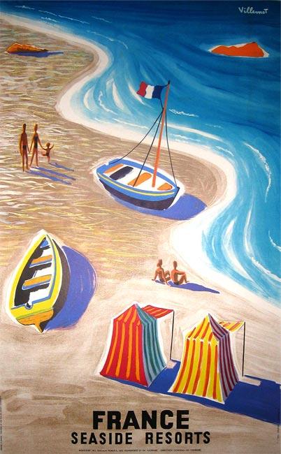 """France, Seaside resorts"" – 1955"
