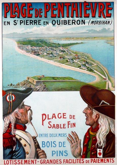 """""""Plage de Penthievre"""" – 1900"""